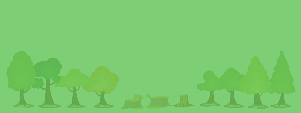 Trees and Stumps Banner 01